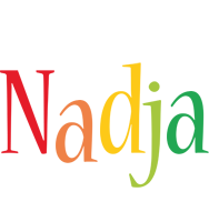 Nadja birthday logo