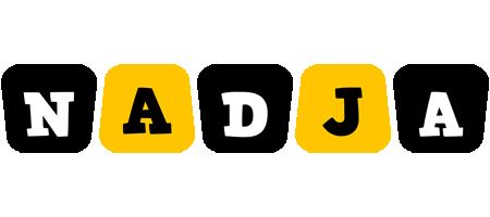 Nadja boots logo