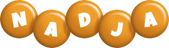 Nadja candy-orange logo