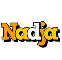 Nadja cartoon logo