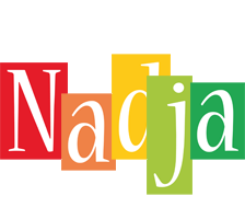 Nadja colors logo