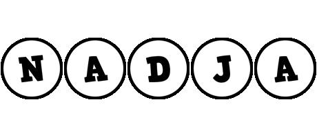 Nadja handy logo