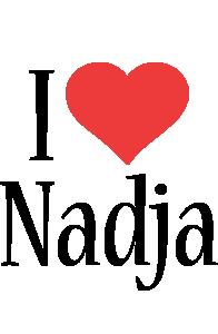 Nadja i-love logo