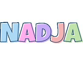 Nadja pastel logo