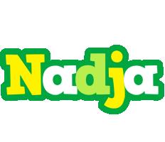 Nadja soccer logo