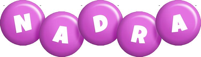 Nadra candy-purple logo