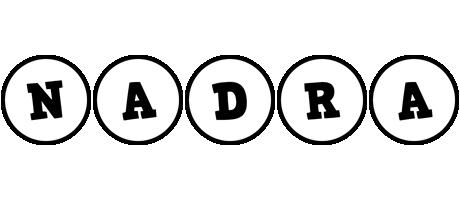 Nadra handy logo