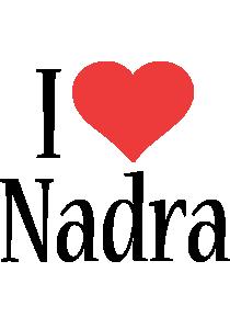 Nadra i-love logo