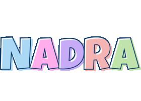 Nadra pastel logo