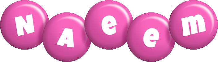 Naeem candy-pink logo