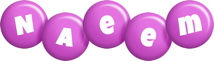 Naeem candy-purple logo
