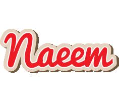 Naeem chocolate logo