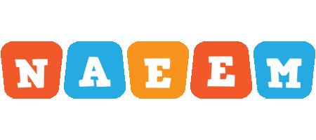 Naeem comics logo