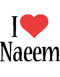 Naeem i-love logo