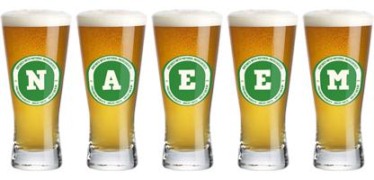 Naeem lager logo