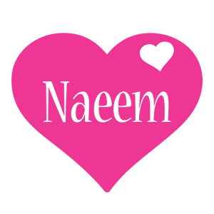 Naeem love-heart logo