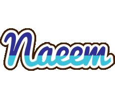 Naeem raining logo