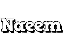 Naeem snowing logo