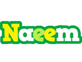 Naeem soccer logo