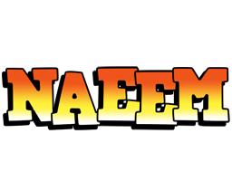 Naeem sunset logo