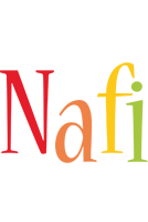 Nafi birthday logo