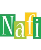 Nafi lemonade logo