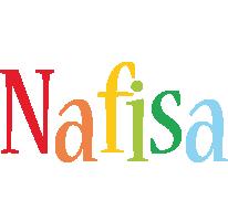 Nafisa birthday logo