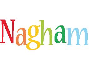 Nagham birthday logo
