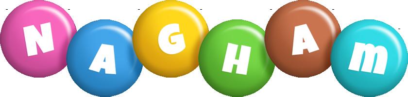 Nagham candy logo