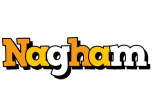 Nagham cartoon logo
