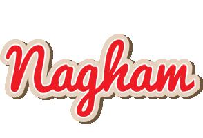 Nagham chocolate logo