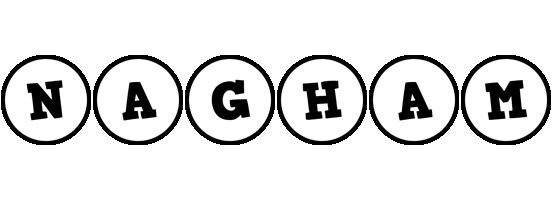 Nagham handy logo