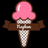 Nagham premium logo