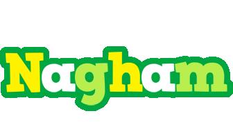 Nagham soccer logo