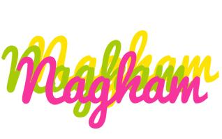 Nagham sweets logo