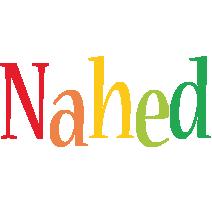 Nahed birthday logo