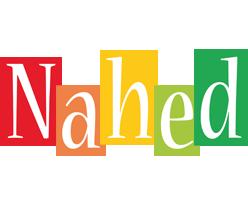 Nahed colors logo