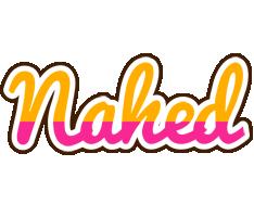 Nahed smoothie logo
