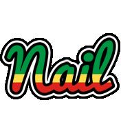 Nail african logo