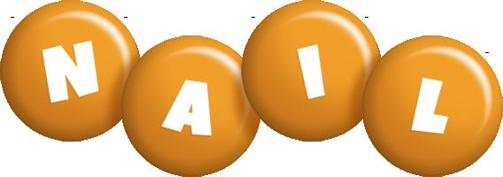 Nail candy-orange logo