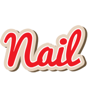 Nail chocolate logo