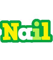 Nail soccer logo