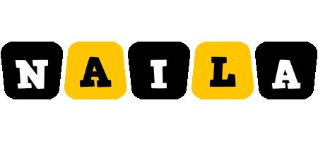 Naila boots logo