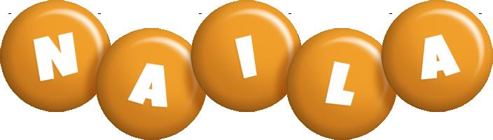 Naila candy-orange logo
