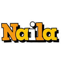 Naila cartoon logo