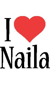 Naila i-love logo