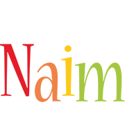 Naim birthday logo