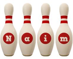 Naim bowling-pin logo