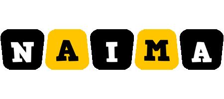 Naima boots logo