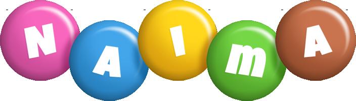 Naima candy logo